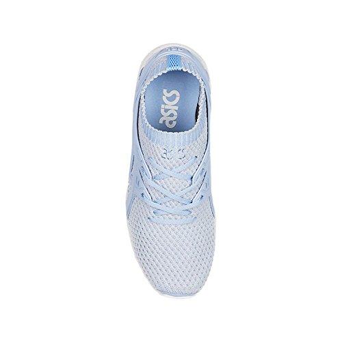 Weiß kayano Ginnastica Scarpe Basse Weiß Knit Blu Asics Da Donna Trainer hellblau Hellblau Gel q5OBwpZ
