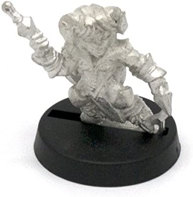 Stonehaven Halfling Tiefling Miniature Figure Made in USA Stonehaven Miniatures for 28mm Scale Table Top War Games