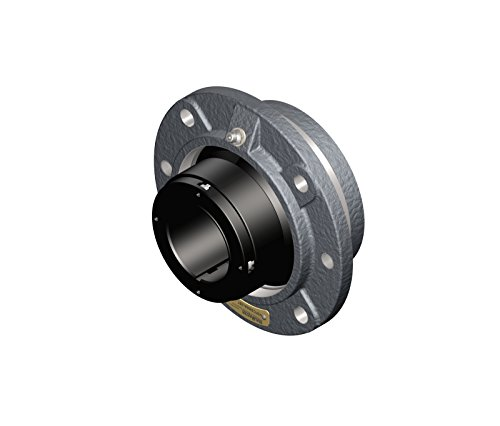 Sealmaster-USFC5000A-307-Unitized-Spherical-Split-Cast-Iron-Roller-Bearing-Flange-Cartridge-Adapter-Mount-34-Bolt-Size-34375-Shaft-Diameter
