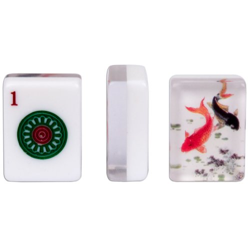 American Mahjong Tiles, Set of 166, ''Koi'' by Yellow Mountain Imports