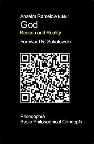 God Reason And Reality Philosophia Basic Philosophical