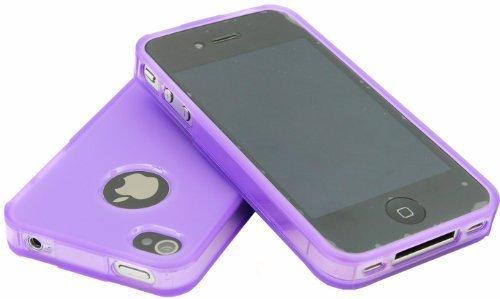 avci Base 4260310646152Bumper Coque pour Apple iPhone 4/4S Violet