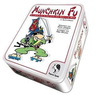 Pegasus Spiele 17143G Munchkin Fu (Metal Box): Steve Jackson