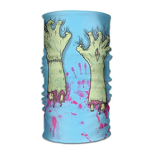 (The Hand of The Zombies 16-in-1 Magic Scarf,Face Mask,Fishing Mask,Thin Ski Mask,Neck Warmer Balaclava)