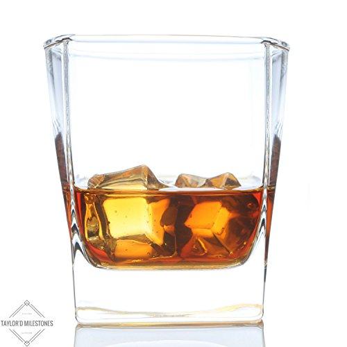 Whiskey Glass Milestones Fashioned Glassware product image