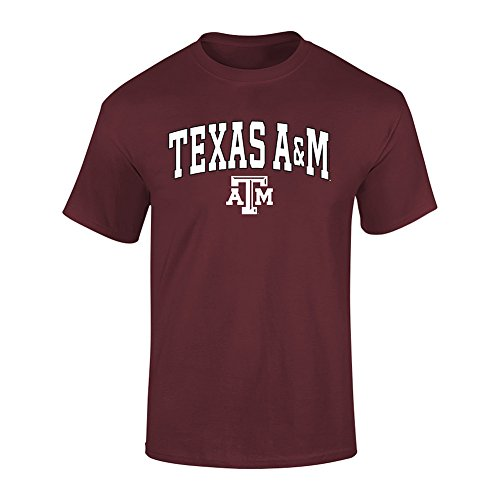- Elite Fan Shop Texas A&M Aggies Tshirt Varsity Maroon - L