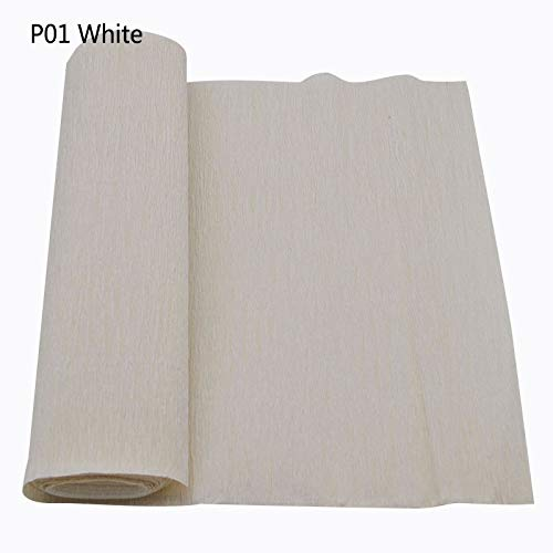 Best Quality - Party DIY Decorations - 250x25cm 1 Roll DIY Flower Making Crepe Papers Wrapping Flowers Gifts Packing Material Handmade Diy Wrapping Paper Craft Decor - by Viet JK - 1 PCs ()