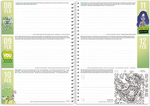 Häfft PLANER Premium A5 2020/2021 [Gaming] stabil & flexibel - Schülerkalender, Hausaufgabenheft, Schülerplaner mit spannendem Wissen, Stickern und lustigen Sprüchen