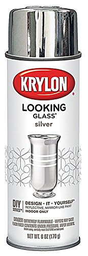 Krylon Looking Glass Mirror-Like Paint (Pkg/2) (Mirror Finish Spray Paint compare prices)