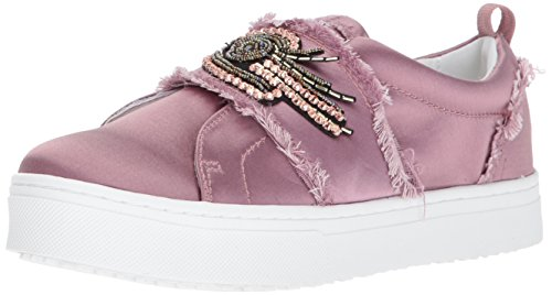 Sam Edelman Women's Levine 2 Sneaker, Pearl Pink Satin, 7.5 Medium US