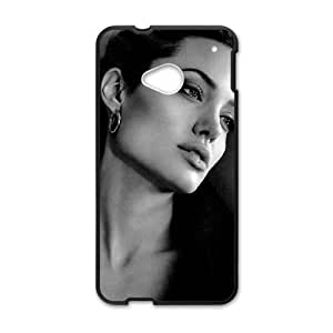 SANLSI Angelina Jolie St. John Cell Phone Case for HTC One M7