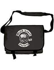 Black Label Society Messenger Bag Sdmf Death Band Logo Official Black