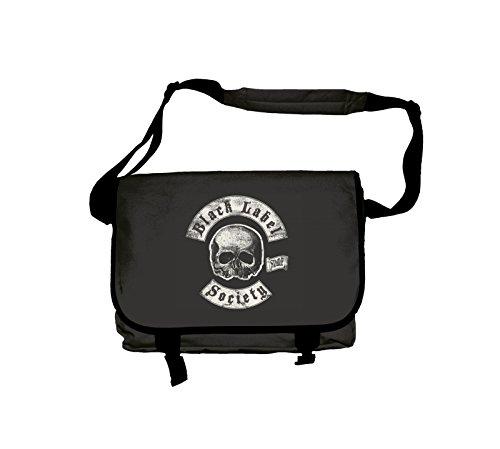 Black Label Society Messenger Bag Sdmf Death Band Logo Official (Label Society Poster)