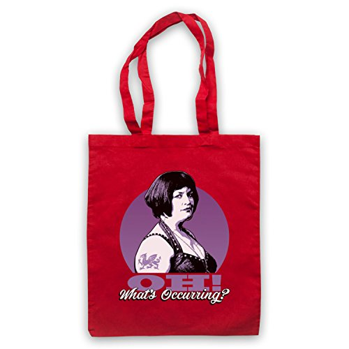 Inspired by Gavin & Stacey Ness Oh Whats Occurring Unofficial Tote Bag Red
