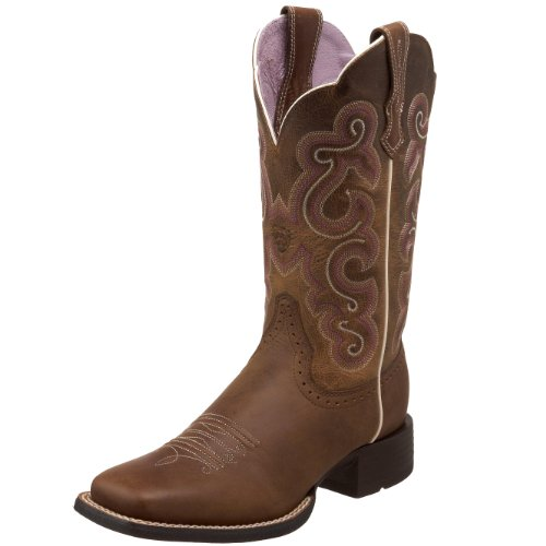 (Ariat Women's Quickdraw, Badlands Brown, 8.5 M)