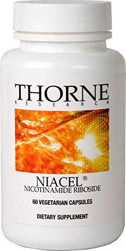 Thorne Research - NiaCel - Nicotinamide Riboside Supplement with ChromaDex Niagen - 60 Capsules