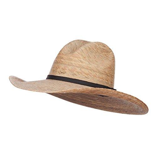 Palm Braid Ranchero Cowboy Hat - Dk Palm XL