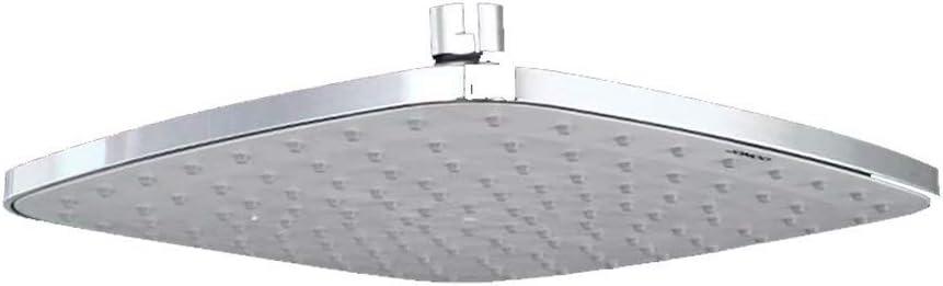 GL-bathroom Cabezal de Ducha Tipo Lluvia, Cabezal de Ducha Tipo Lluvia Ultra Delgado y Potente de Alta presión para baño y Ducha (Cromo): Amazon.es: Hogar