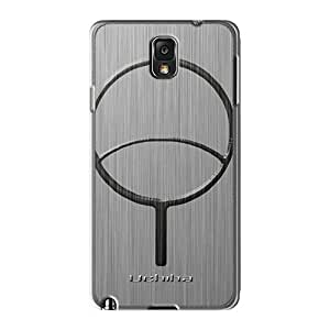 IanJoeyPatricia Samsung Galaxy Note 3 Shock-Absorbing Hard Cell-phone Cases Support Personal Customs Stylish Uchiha Clan Pattern [eFG16406Ecun]
