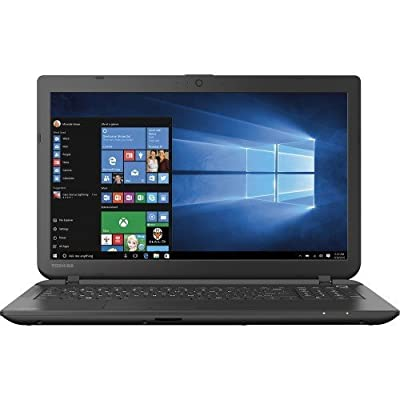 Toshiba Satellite C55D 15.6-Inch Laptop (AMD Quad-Core A8-6410 Processor, 4GB DDR3L RAM, 1TB HDD, Windows 8.1 / 10) Jet Black