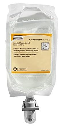 Amazon.com: Rubbermaid Commercial Enriched Foam Alcohol E3 Hand ...