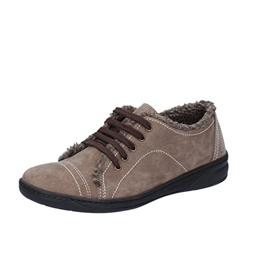 Beige Nabuck 37 Donna Sneakers Fashion EU Susimoda Pelliccia qtcwf7XOnW