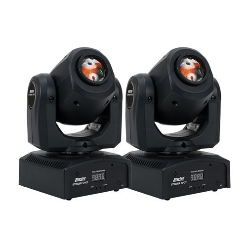 Daisy Chain Iec Power Cable (ADJ American DJ Stinger Spot LED Moving Head Light 2-Pack)