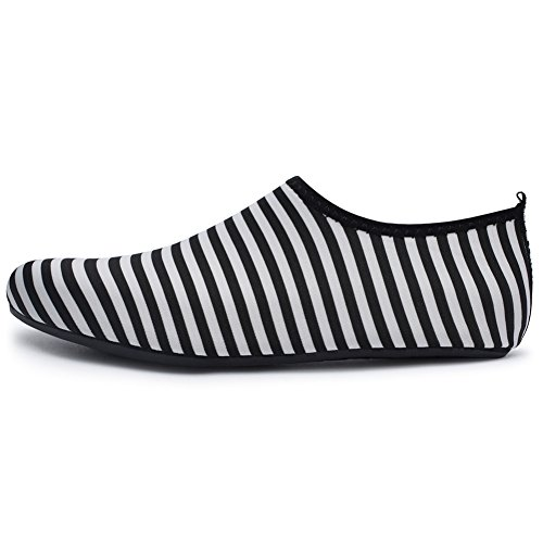 Canvas Slim Sneaker Stripe Barerun Slip Girls Kids Boys First Anti Baby Shoes Walkers Awtaq