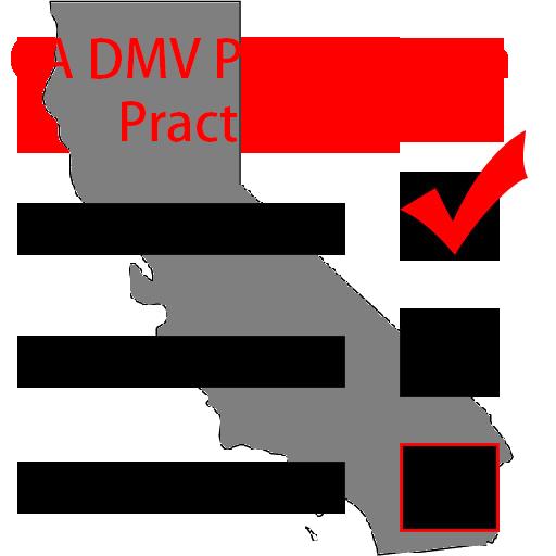 CA DMV Permit Exam Practice