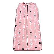 Stretchy Wearable Blanket-BROLEX Infant Sleeping bag,Baby Sleeping Blanket,Micro-Fleece,2-Way Zipper,Grey Elephant,Medium