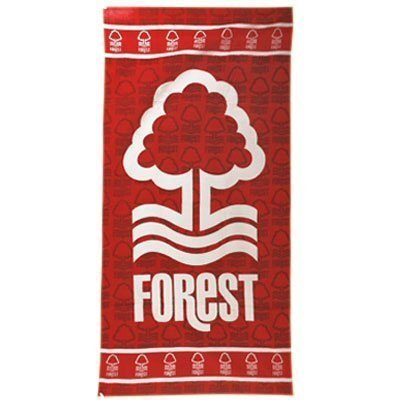 Large Crest Design Nottingham Forest Personalised Towel