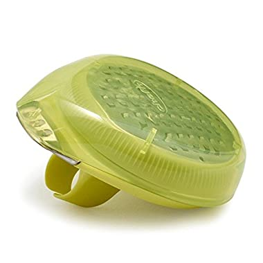Chefn PalmZester No Mess Citrus Zester with Channel Knife - Light Green