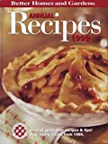 Better Homes and Gardens Annual Recipes 1998, Bh, G, 0696209683
