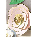 MEJOY-Paper-Flower-Decorations-6-Piece-White-Pink-and-Blush-3D-Paper-Flower-Set-Large-Paper-Flowers-for-Nursery-Wall-DecorWedding-Baby-Shower-Backdrop-Archway-Home-Decor