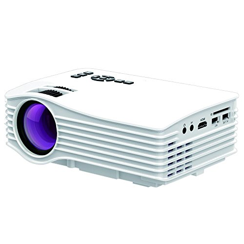 Free shipping projector dihome led projector outdoor home for Pocket pc projector