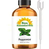 El mejor aceite esencial de menta (4 onzas grandes) El mejor aceite esencial