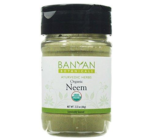 Banyan Botanicals Neem Powder - USDA Organic - Spice Jar, Az