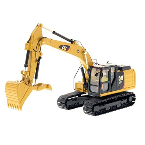 Caterpillar 323F Medium Excavator High Line Series Vehicle (Model Diecast Excavator)