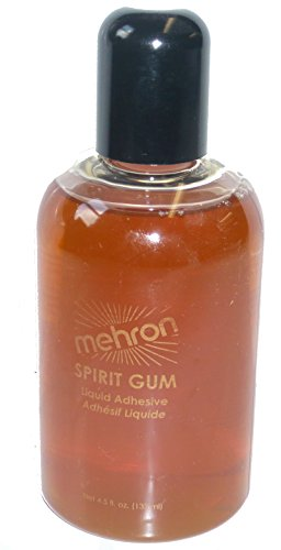 118 (4.5oz) Mehron Spirit Gum Adhesive by Mehron (Image #1)