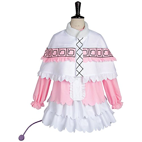 [Costhat Halloween Party Girl Women Dress Maid Kanna Kamui Outfit Uniform Cosplay Costume] (Settlers Of Catan Costumes)