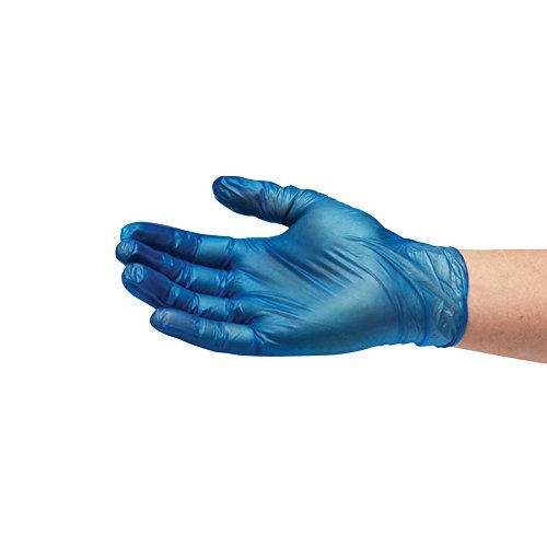 Box of 100 Bodyguard 4 Blue Nitrile Powder Free Disposable Gloves [Small] Bodyguards