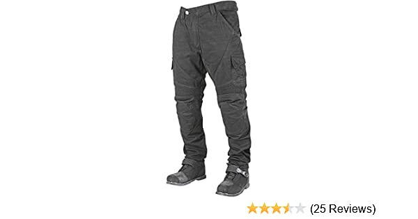 Black//Size 38X32 Speed and Strength Dog of War Mens Armored Moto Street Motorcyle Pants