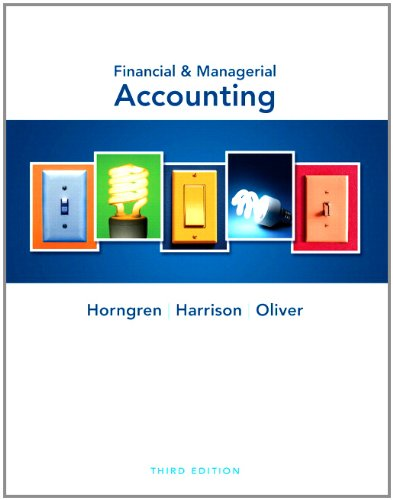 Financial & Managerial Accounting and MyAccountingLab with Pearson eText Student Access Code Card Package (3rd Editi