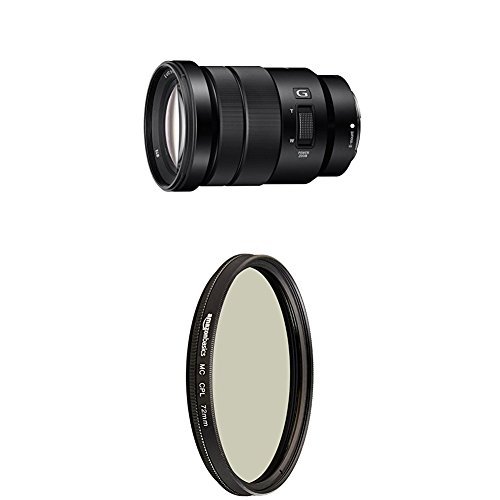 Sony SELP18105G E PZ 18-105mm F4 G OSS with Circular Polarizer Lens