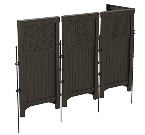 Suncast 4 Panel Outdoor Screen Enclosure Freestanding