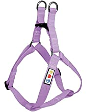 Pawtitas Pet Adjustable Solid Color Step in Puppy/Dog Harness Matching Collar and Harness Sold Separately