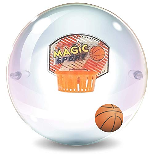ArtCreativity Basketball Capsule Sports Game for Kids - 4 Inch Handheld Toy with Flashing Lights and Sound Effects - Fun Fidget Toy - Cool Party Favor, Goodie Bag Filler, Gift Idea for Boys and Girls
