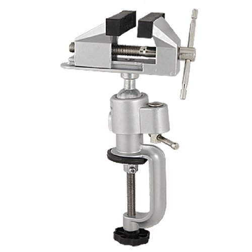 uxcell Craft Jewellers Rubber Pad Design Clamp On Vise Table Bench Vice