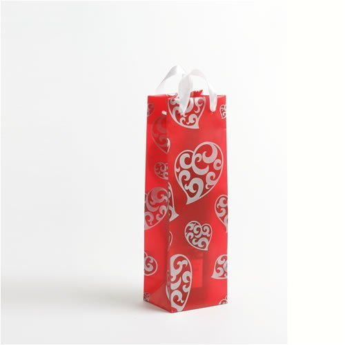 I Heart Paisley Wine Bottle Gift Bag - 1 Bottle