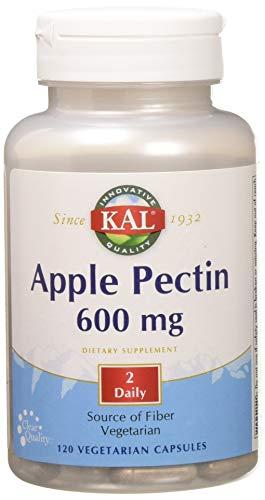 - Kal 600 Mg Apple Pectin, 120 Count